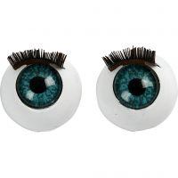 Stora ögon, stl. 12 mm, 6 st./ 1 förp.