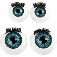 Stora ögon, Dia. 12+17 mm, 2x50 st./ 1 förp.