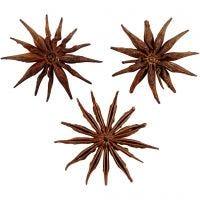 Anisstjärnor, Dia. 15-20 mm, 250 g/ 1 förp.