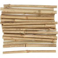 Bambupinnar, L: 20 cm, tjocklek 8-15 mm, 30 st./ 1 förp.