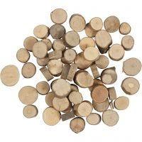 Träskivor, Dia. 10-15 mm, 25 g/ 1 förp.