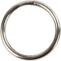 Nyckelringar, Dia. 12 mm, 10 st./ 1 förp.
