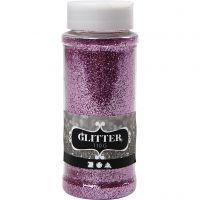 Glitter, rosa, 110 g/ 1 burk