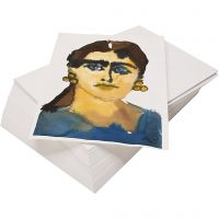 Akvarellpapper, återvunnet, A2, 180 g, vit, 100 ark/ 1 förp.