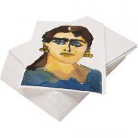 Akvarellpapper, återvunnet, A3, 180 g, vit, 100 ark/ 1 förp.