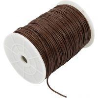Bomullssnöre, tjocklek 2 mm, brun, 100 m/ 1 förp.