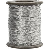 Tråd, tjocklek 0,5 mm, silver, 100 m/ 1 rl.