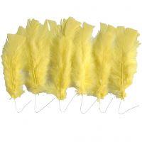 Dun, L: 11-17 cm, gul, 18 bunt/ 1 förp.
