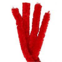 Piprensare, L: 40 cm, tjocklek 30 mm, röd, 4 st./ 1 förp.