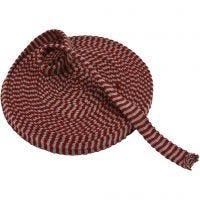 Tubstickat, B: 22 mm, gml. Röd/grå, 10 m/ 1 rl.