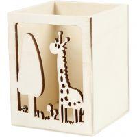 Pennställ, giraff, H: 10 cm, L: 8 cm, 1 st.