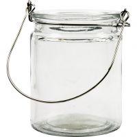 Lanterna, H: 10 cm, Dia. 7,6 cm, 12 st./ 1 låda