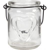 Lanternor, H: 9,5 cm, Dia. 6,5 cm, 2 st./ 1 förp.