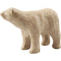 Isbjörn, H: 8,5 cm, L: 11,5 cm, 1 st.