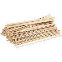 Glasspinnar, L: 19 cm, B: 6 mm, 200 st./ 1 förp.