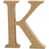 Bokstav, K, H: 13 cm, tjocklek 2 cm, 1 st.