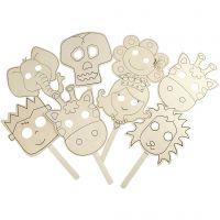 Masker, L: 35 cm, B: 22 cm, tjocklek 2 mm, 16 st./ 1 förp.