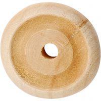 Hjul, Dia. 24x8 mm, 8 st./ 1 förp.