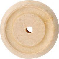 Hjul, Dia. 30x10 mm, 40 st./ 1 förp.