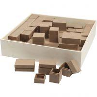 Miniaskar, H: 2,5-5 cm, 4x15 st./ 1 förp.