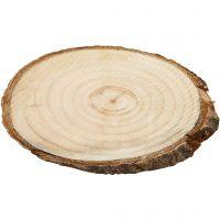 Träskivor, stl. 9,5x6 cm, tjocklek 6 mm, 12 st./ 1 förp.
