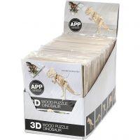 3D-pussel med app, H: 11,5-22 cm, 48 st./ 1 förp.