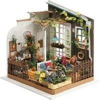 DIY Miniatyrrum, Trädgård, H: 21 cm, B: 19,5 cm, 1 st.