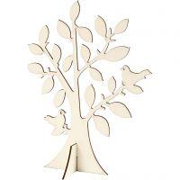 Träd, H: 24 cm, B: 18,4 cm, 1 st.