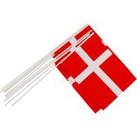Pappersflaggor, stl. 20x25 cm, 10 st./ 1 förp.