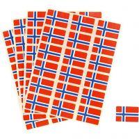 Flaggor, stl. 15x22 mm, 72 st./ 1 förp.
