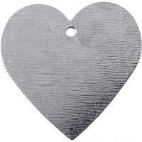 Metallhjärta, stl. 30x30 mm, 15 st./ 1 förp.