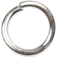 O-ring, stl. 4,4 mm, tjocklek 0,7 mm, försilvrad, 500 st./ 1 förp.