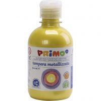 PRIMO metallic färg, gul, 300 ml/ 1 förp.