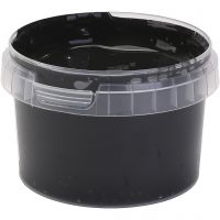 PRIMO fingerfärg, svart, 250 ml/ 1 flaska