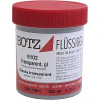 Glasyr till lera, transparent, 200 ml/ 1 burk