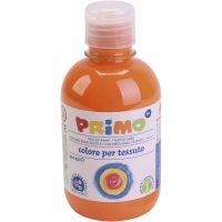 Textilfärg, orange, 300 ml/ 1 flaska