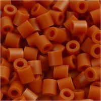 Rörpärlor, stl. 5x5 mm, Hålstl. 2,5 mm, medium, kola brun (32254), 1100 st./ 1 förp.
