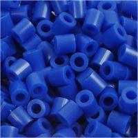 Rörpärlor, stl. 5x5 mm, Hålstl. 2,5 mm, medium, mörkblå (32232), 1100 st./ 1 förp.