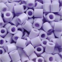 Rörpärlor, stl. 5x5 mm, Hålstl. 2,5 mm, medium, syren (32245), 1100 st./ 1 förp.