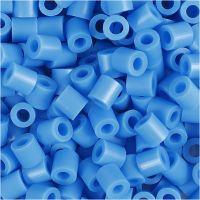 Rörpärlor, stl. 5x5 mm, Hålstl. 2,5 mm, medium, blå (32238), 6000 st./ 1 förp.