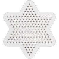 Stiftplatta, små stjärnor, Dia. 10 cm, 10 st./ 1 förp.
