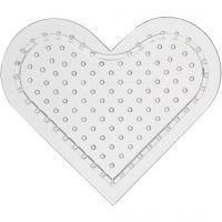 Stiftplatta, små hjärtan, H: 8 cm, 10 st./ 1 förp.