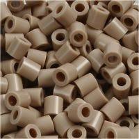 Photo Pearls, stl. 5x5 mm, Hålstl. 2,5 mm, beige (6), 6000 st./ 1 förp.