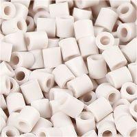Photo Pearls, stl. 5x5 mm, Hålstl. 2,5 mm, ljusgrå (10), 1100 st./ 1 förp.