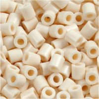 Photo Pearls, stl. 5x5 mm, Hålstl. 2,5 mm, ljusbeige (12), 1100 st./ 1 förp.