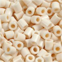 Photo Pearls, stl. 5x5 mm, Hålstl. 2,5 mm, ljusbeige (12), 6000 st./ 1 förp.