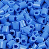 Photo Pearls, stl. 5x5 mm, Hålstl. 2,5 mm, blå (17), 1100 st./ 1 förp.