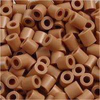 Photo Pearls, stl. 5x5 mm, Hålstl. 2,5 mm, ljusbrun (20), 6000 st./ 1 förp.