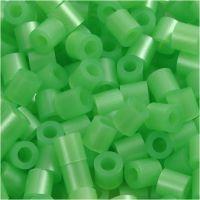 Photo Pearls, stl. 5x5 mm, Hålstl. 2,5 mm, grön pärlemor (22), 1100 st./ 1 förp.