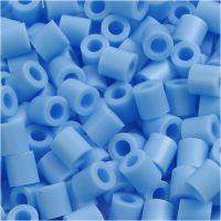 Photo Pearls, stl. 5x5 mm, Hålstl. 2,5 mm, pastellblå (23), 1100 st./ 1 förp.